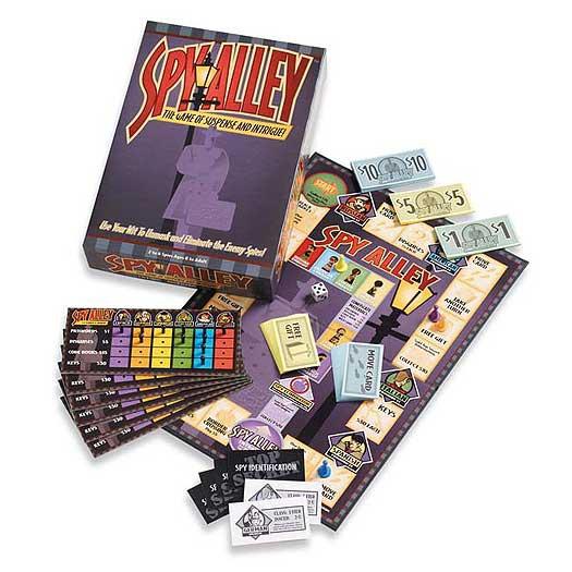 gift idea - spy alley board game