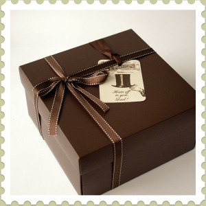 Fathers Day Gift - Vintage Father's Day Gift Box