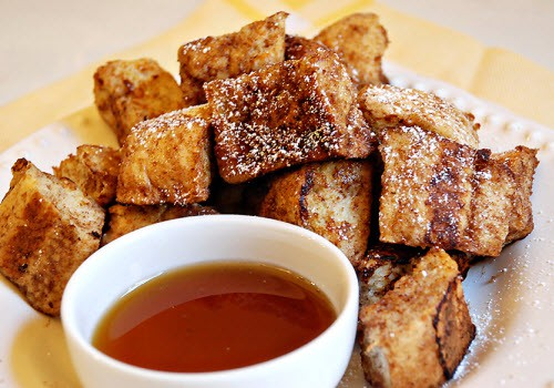 fathers day brunch - french toast bites