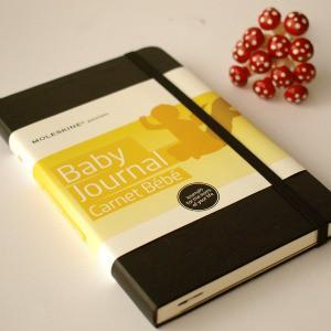 baby gift ideas - moleskine baby journal