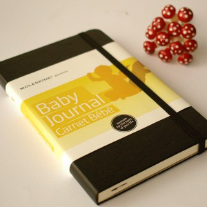 baby gift ideas - moleskine baby journal