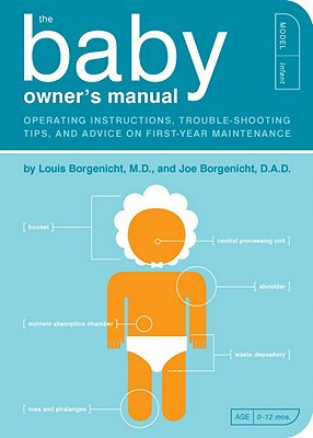Baby gift ideas - baby owners manual