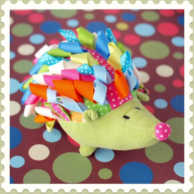 Baby gifts | Hedgehog rattle
