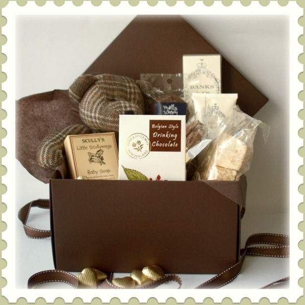 Traditional Baby Gift Basket