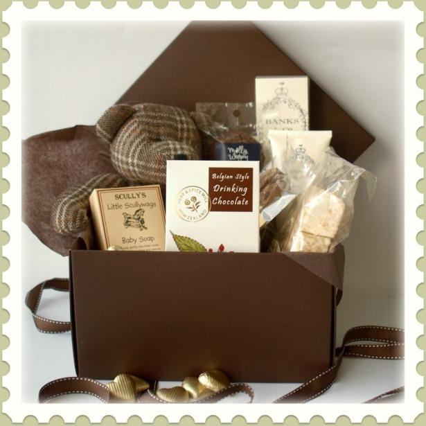 Traditional Baby Gift Basket