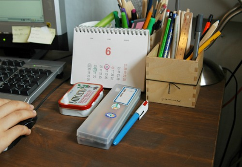 gift ideas from O-Check - Wood Pencil Stand