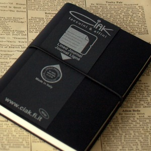Christmas Gift Guide 2011 - Ciak Lined Pocket Notebook