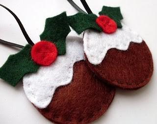 Christmas Gift Ideas - Homemade Felt Decorations