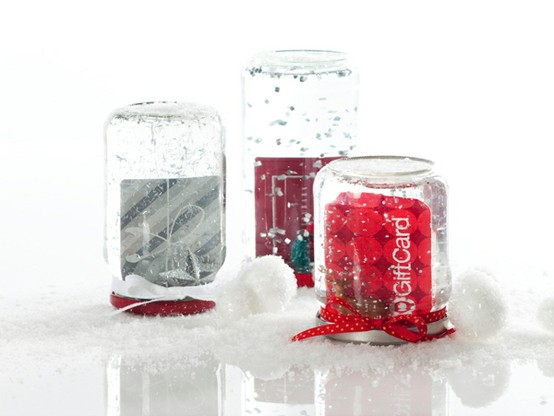 Christmas Gift Guide 2011 - Snowglobe gift cards