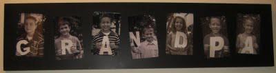 Christmas Gift Ideas - Grandpa photo collage