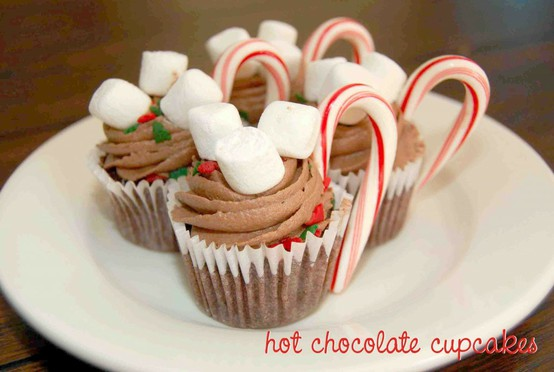 Christmas Gift Guide 2011 - Hot Chocolate Cupcakes