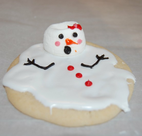 Christmas Gift Guide 2011 - Melting Snowman Cookies