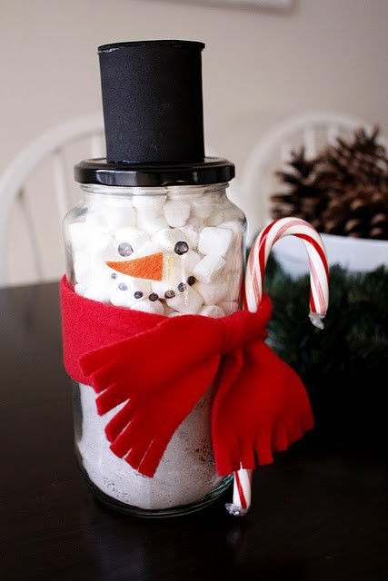Christmas Gift Guide 2011 - Snowman Jar