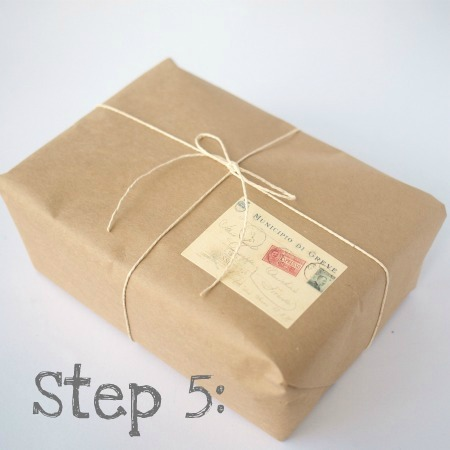 Gift Wrapping at The Paper Package