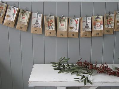 Brown Paper Envelopes Advent Calendar