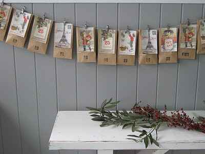 Brown Paper Envelopes Advent Calendar