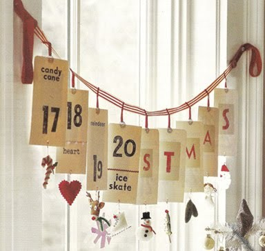 Christmas Advent Garland