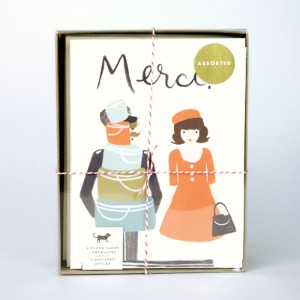 French cards Boxed Set from Rifle Paper Co