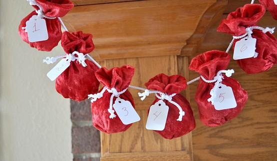 Santa Sack Advent Calendar