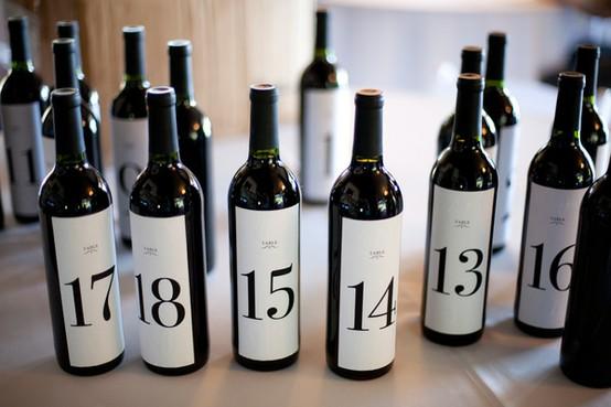 Wine Bottle Advent Calendar