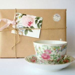 "Valentines Gift Box ""Tea for Two"""