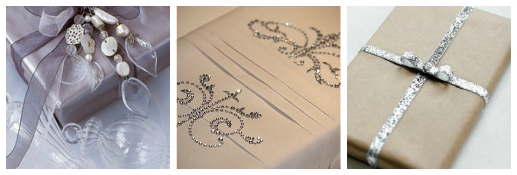Wedding Gift Ideas In Silver : wedding gift wrapping collage