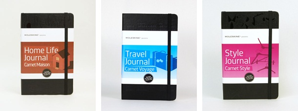 Moleskine journals coming soon