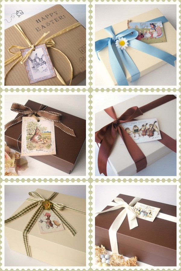 The paper package blog these are a few of our favourite easter gift baskets negle Choice Image