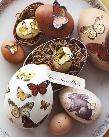 The paper package blog these are a few of our favourite beautiful decorated eggs from martha stewart negle Images